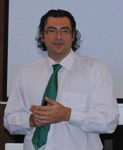 Antonio José Delgado en la Universidad Pablo de Olavide (UPO) en Carmona (Sevilla)