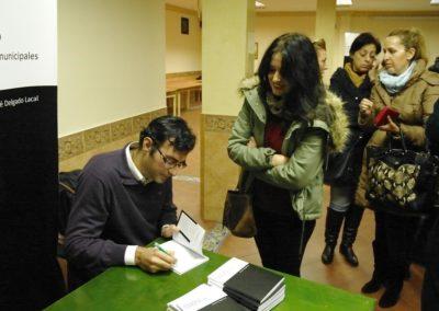 entrenando al candidato sensato firma libro